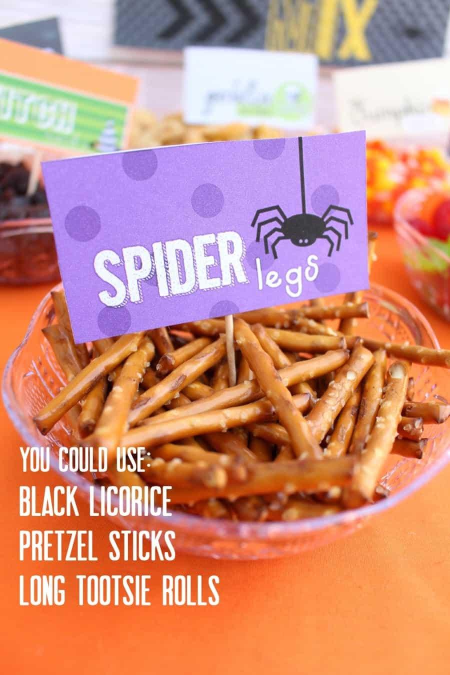 spider legs ideas