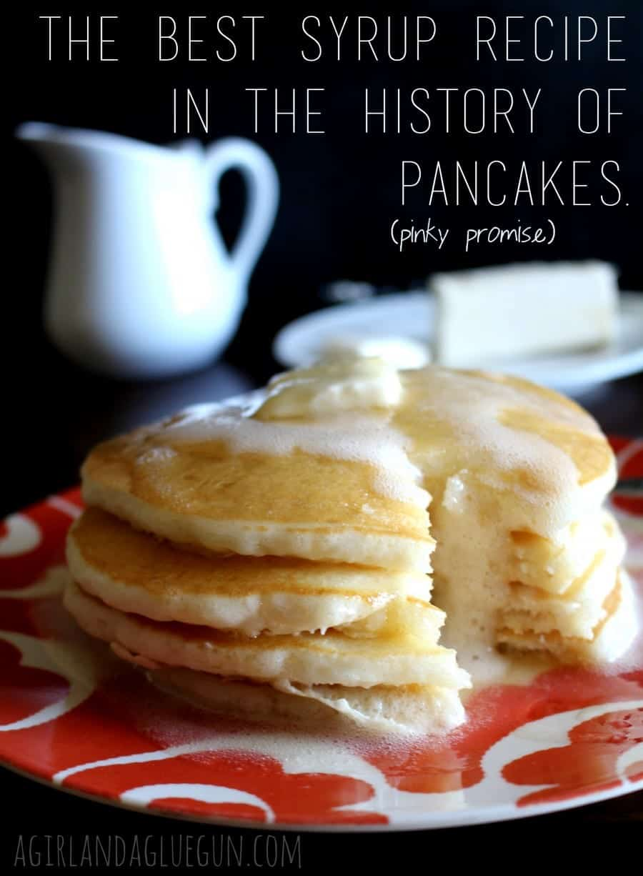 the best syrup in the history of pancakes