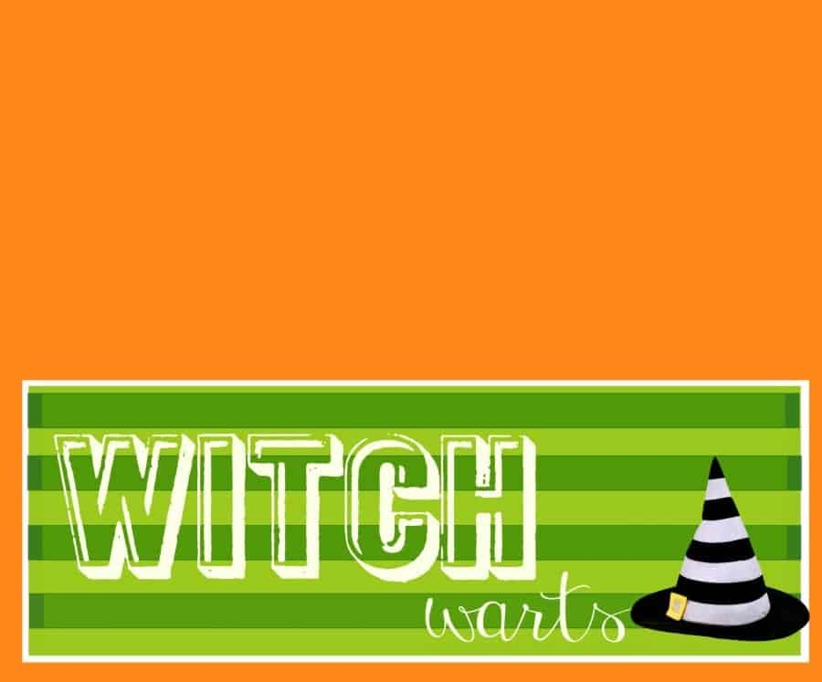 witch wart printable