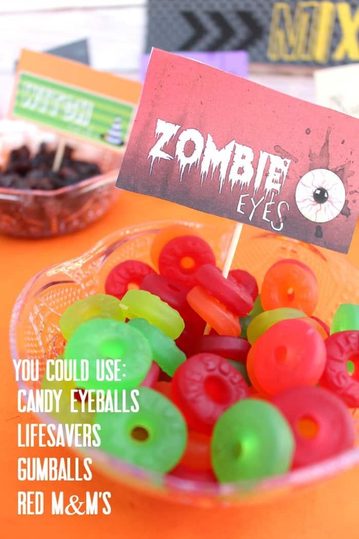 zombie eyes ideas