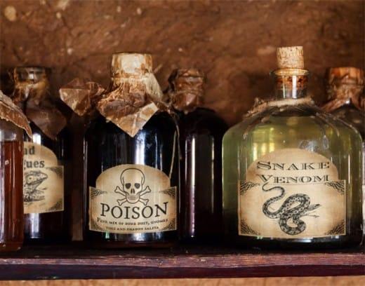 Potion Bottles Diy A Girl And A Glue Gun