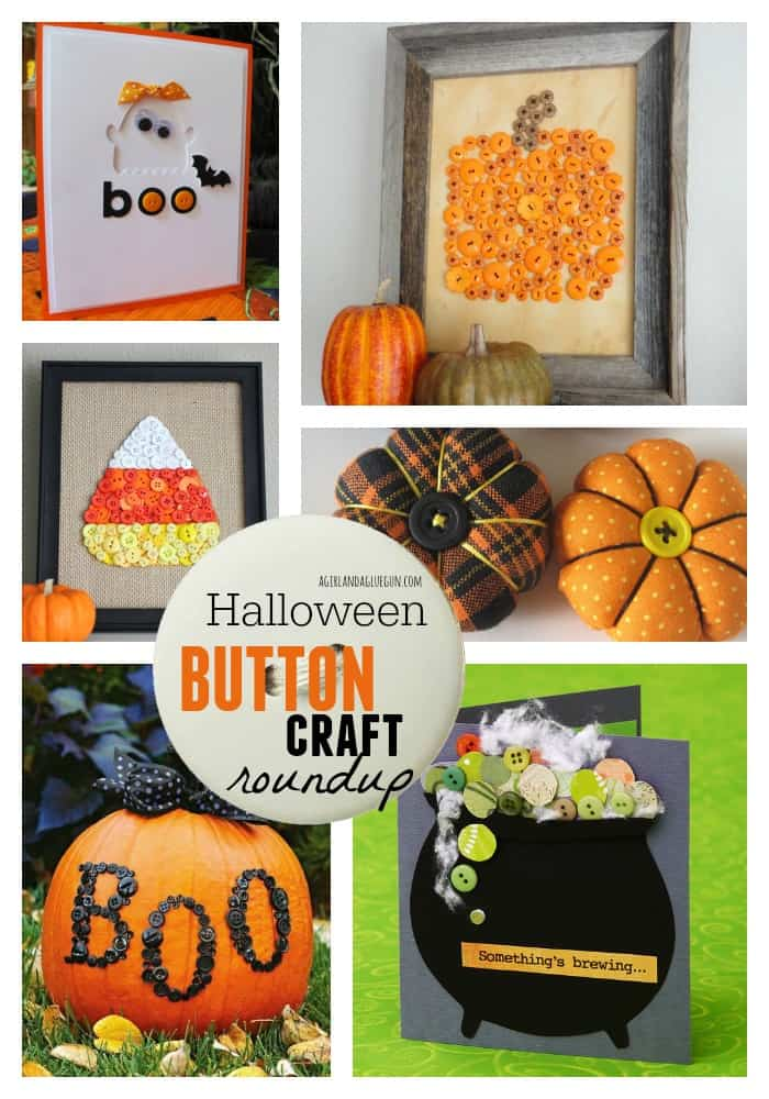 Halloween button craft roundup
