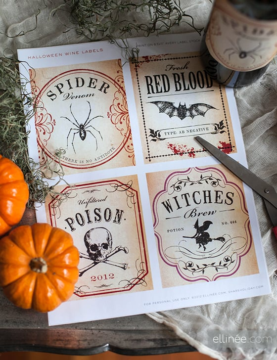 HalloweenBottleLabels41