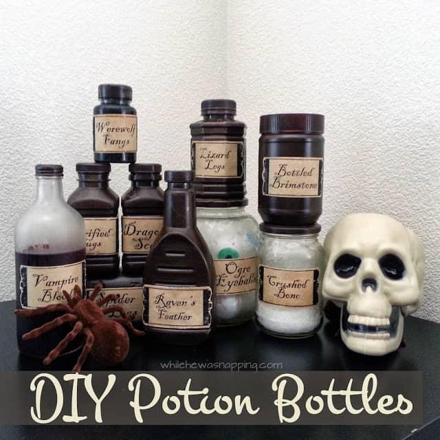 Potion Bottle Set
