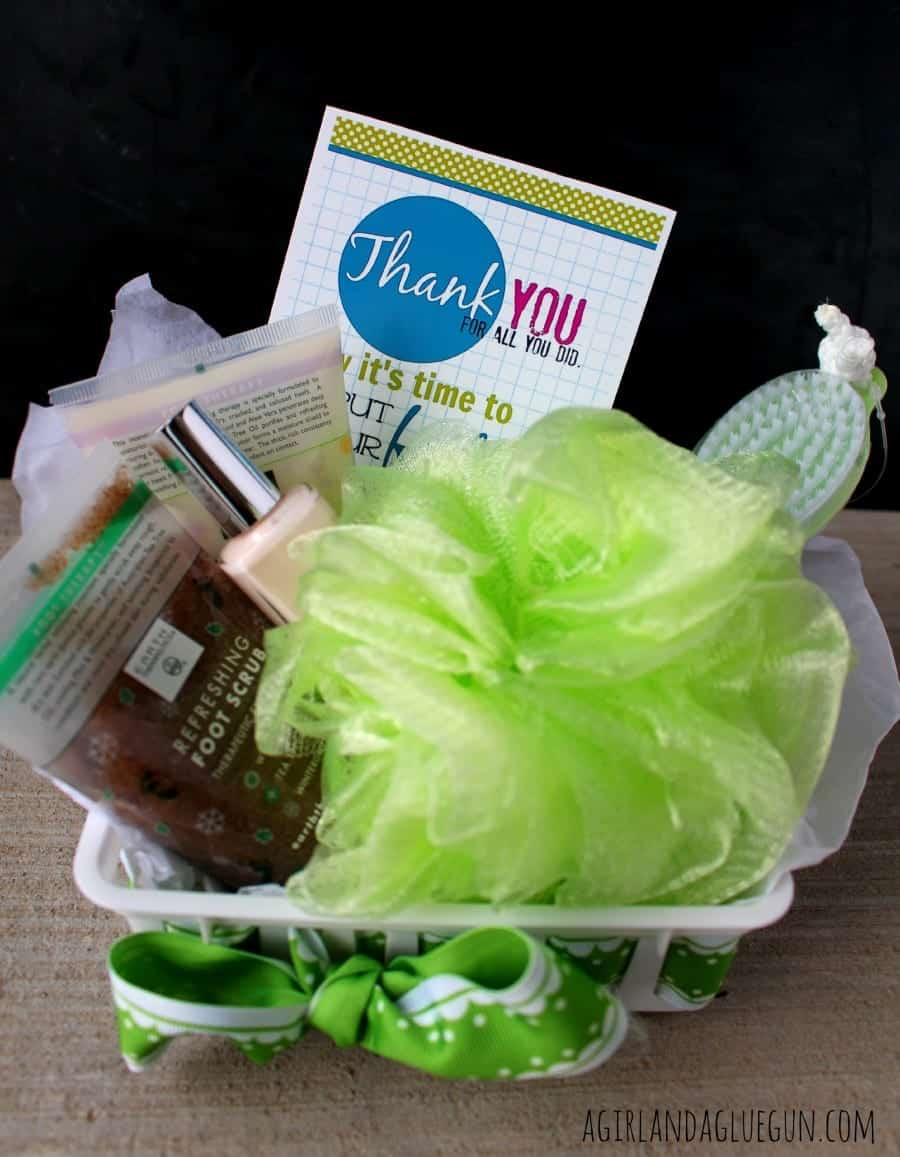 basket full of goodies...thank you gift
