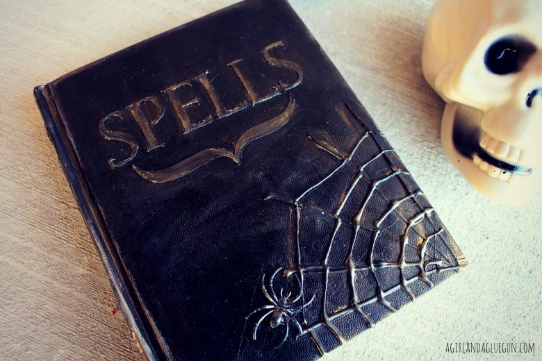Diy Spell Book A Girl And A Glue Gun