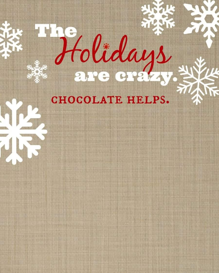 free printable for the holidays.