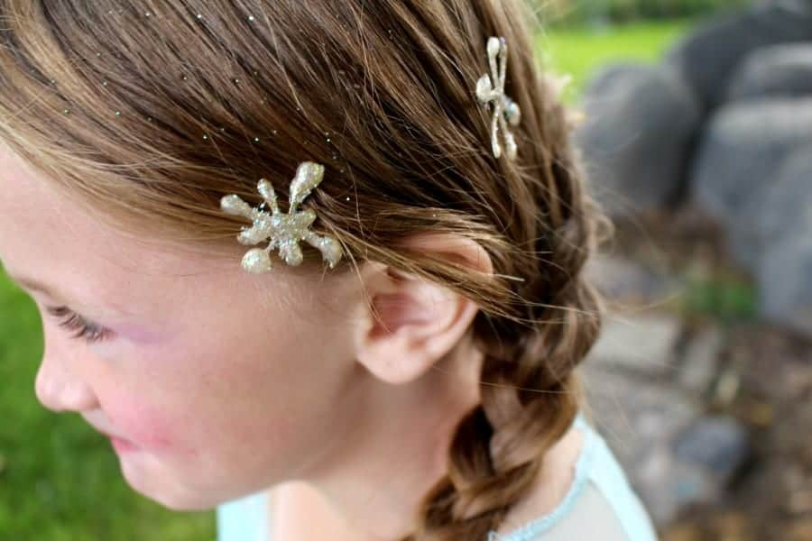 frozen hair bobby pins