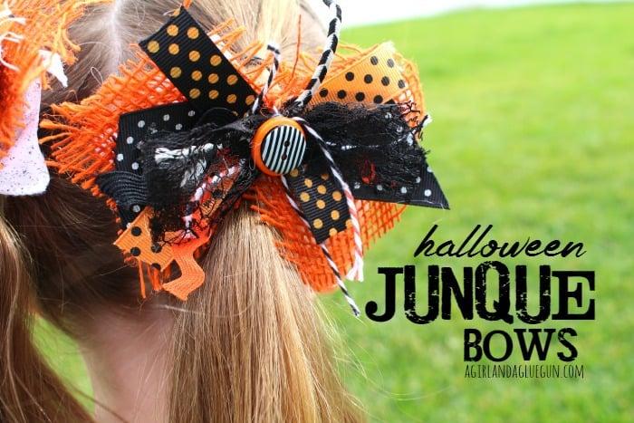 halloween junque bows