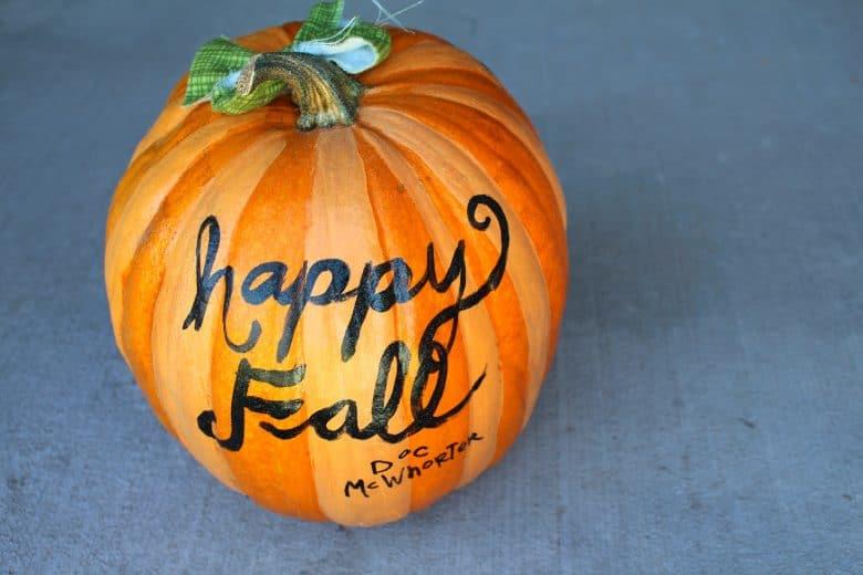 Halloween Painted Pumpkins Part - 42: Painted Pumpkins!