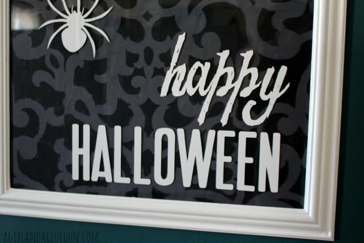 happy halloween vinyl