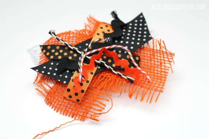 how to make junque bows for halloween