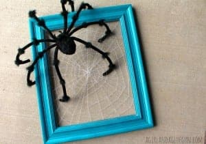 make your own spider web with string