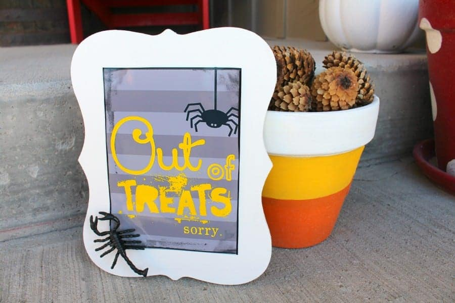 out of treats printable