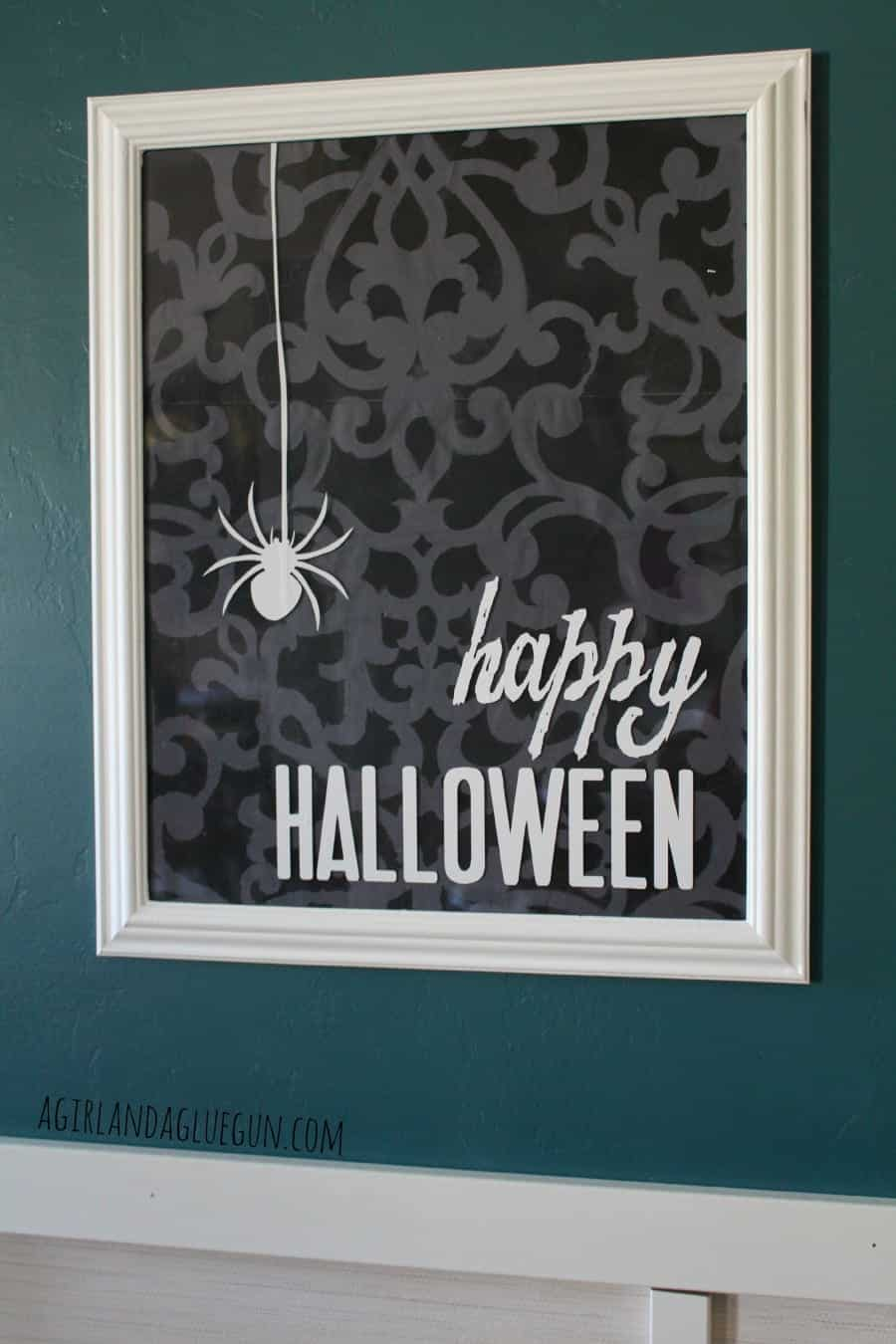 royal designs wall stencil for halloween