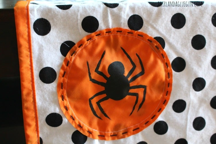 spider decal for halloween