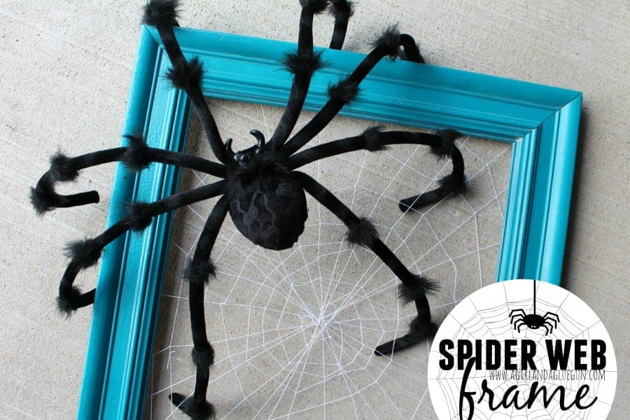spider web frame how to