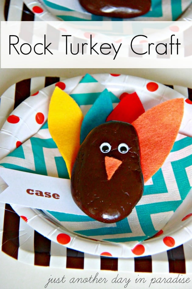 Rock-Turkey-Craft