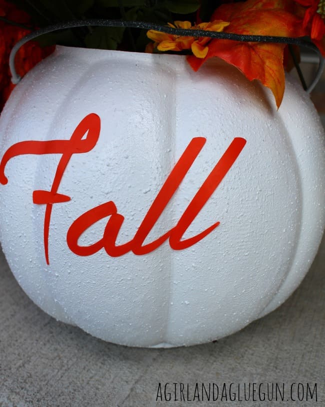 fall pumpkin perfect for your porch