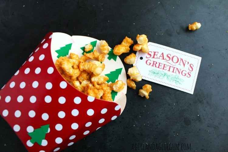 popcorn neighbor gift from michaels fry box