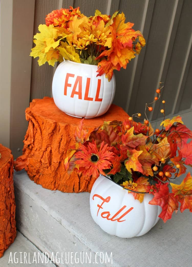 porch decor for fallautumn