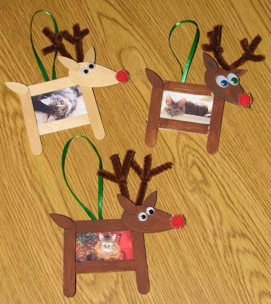 Christmas Crafts To Make With Popsicle Sticks A Girl