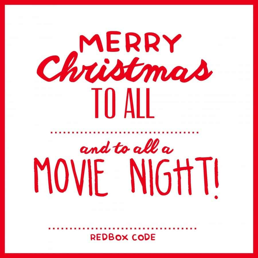 merry christmas to all and to all a movie night!