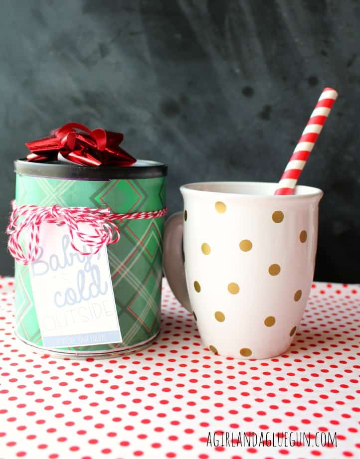cocoa cup with hot chcolate perfect neighbor gift