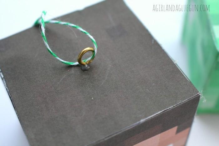 eye hook for ornament holder