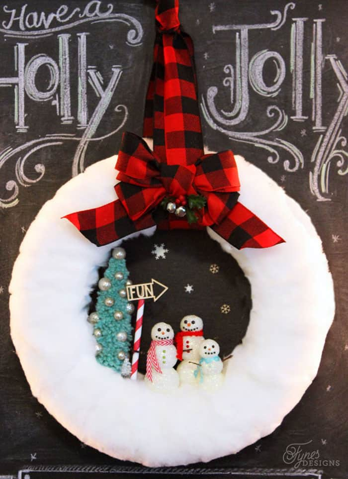 glittery-snowman-wreath