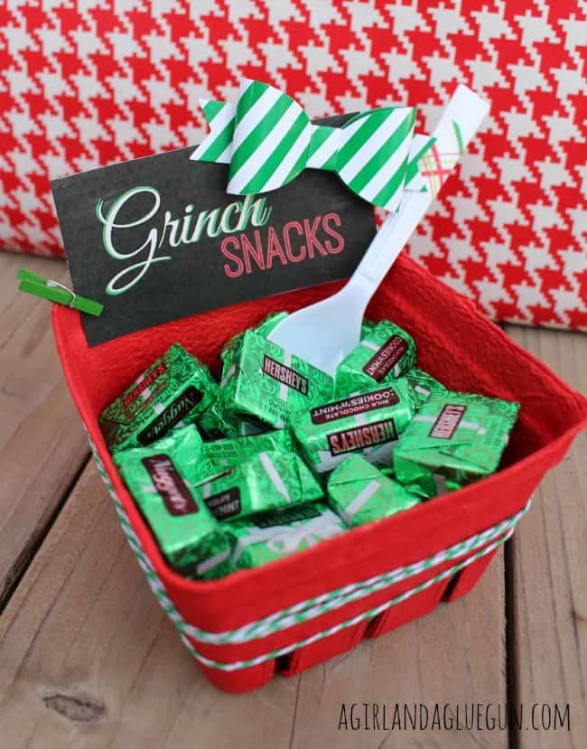grinch snacks