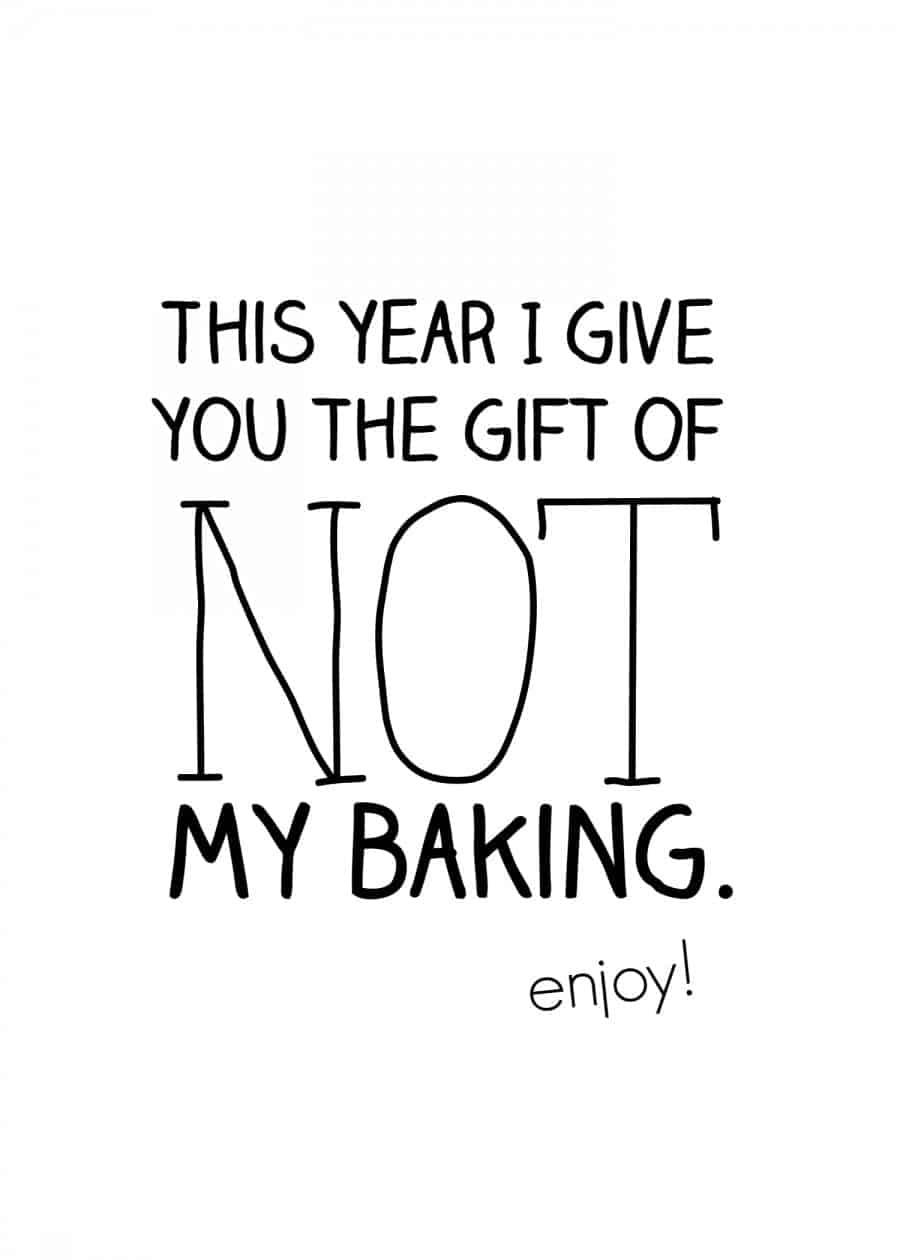 not my baking free christmas printable