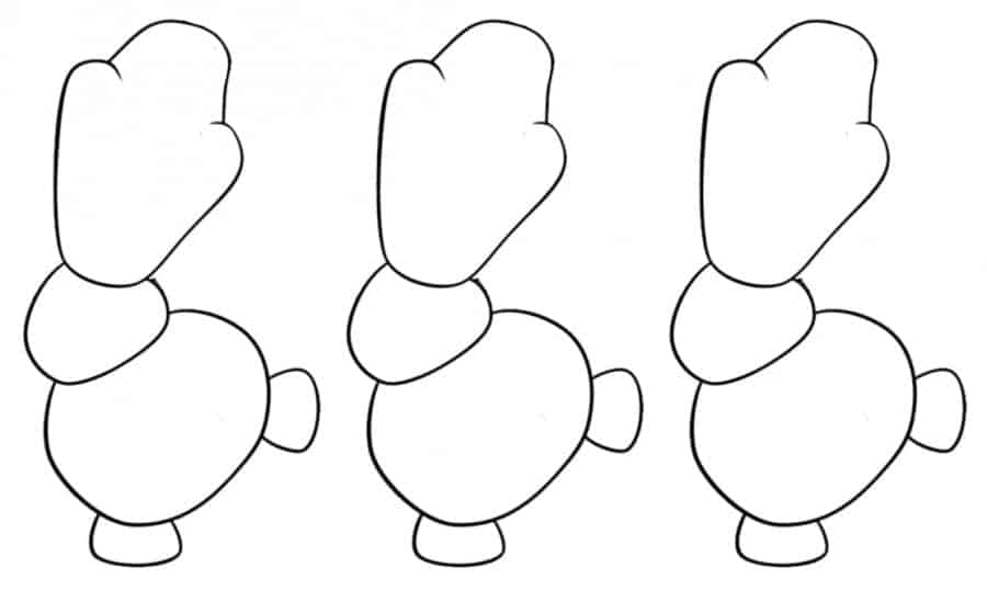 olaf body printable
