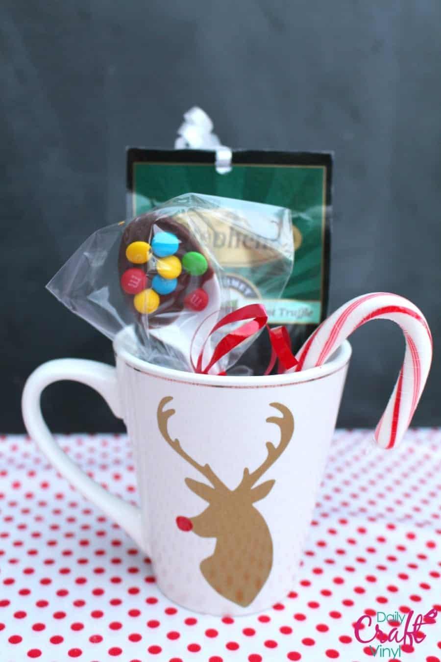 Stephen S Hot Chocolate Neighbor Gift A Girl And A Glue Gun