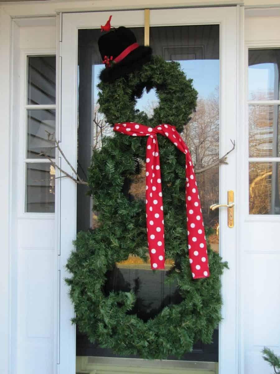 snowman wreath 013