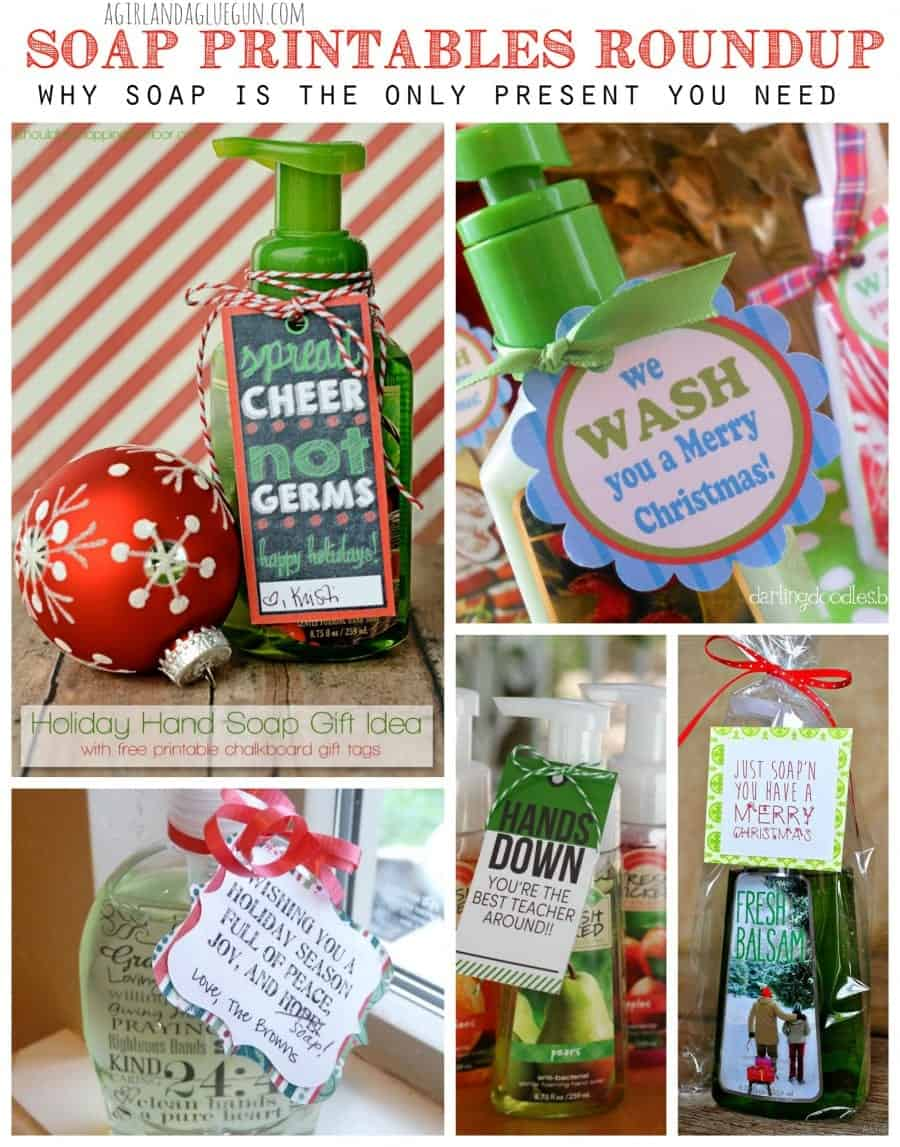 soap printables roundup