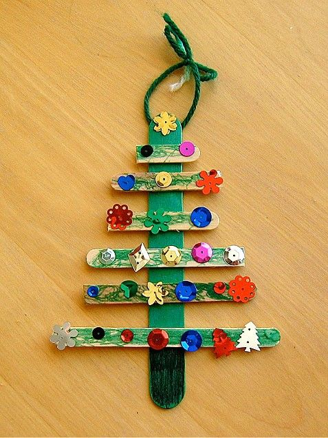 Christmas crafts to make with Popsicle sticks  A girl and a glue gun