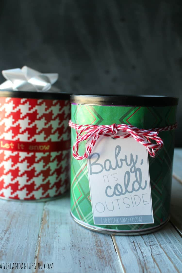 wrapped up hot cocoa gift
