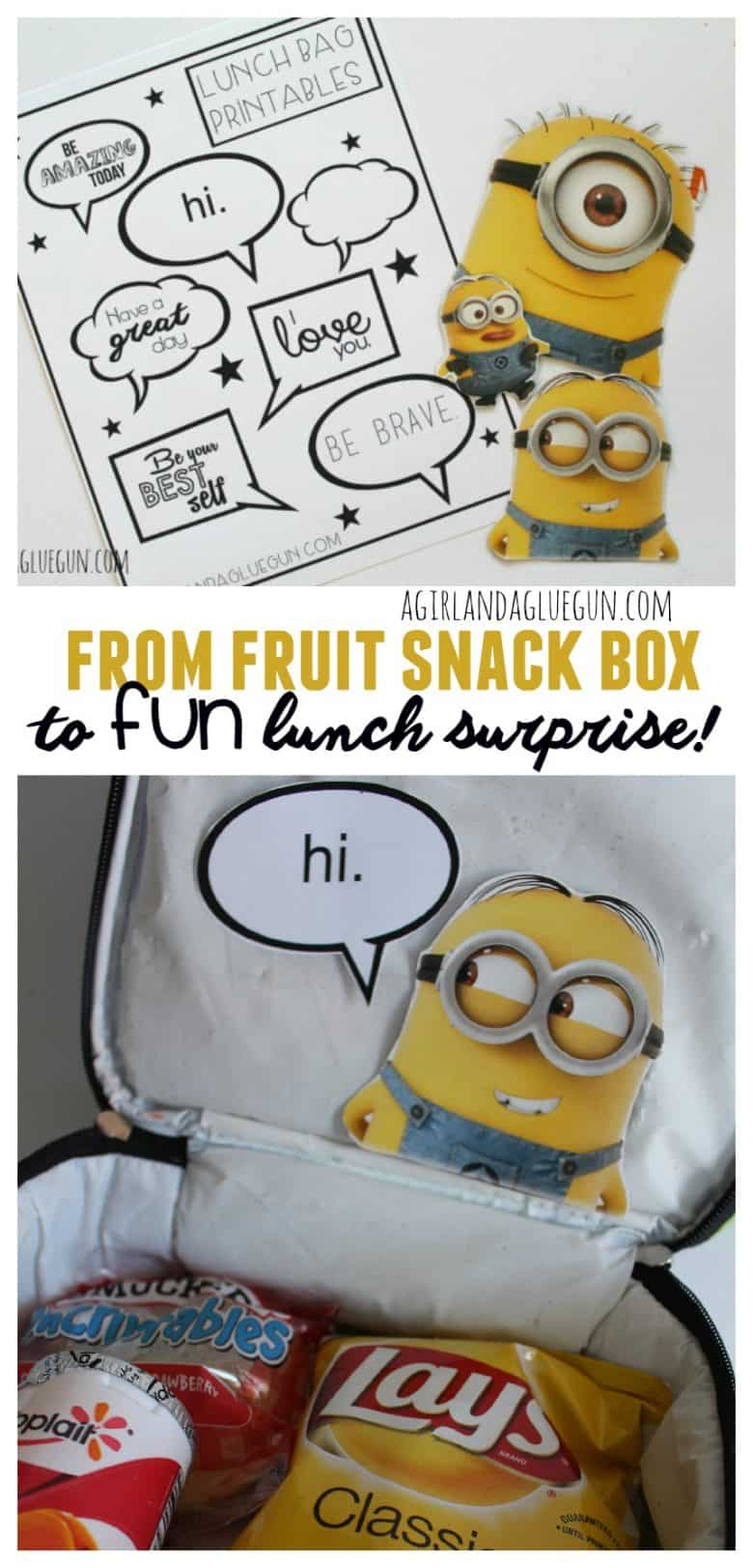fun fruit snack box to fun lunch surprise