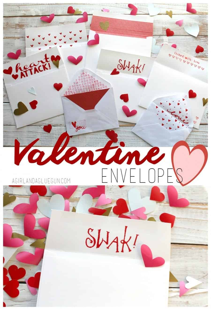 fun valentine envelopes diy