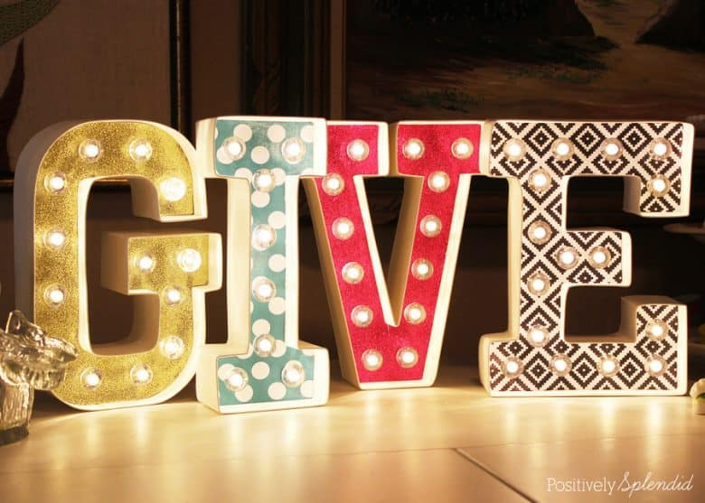 marquee letter sign tutorial 5