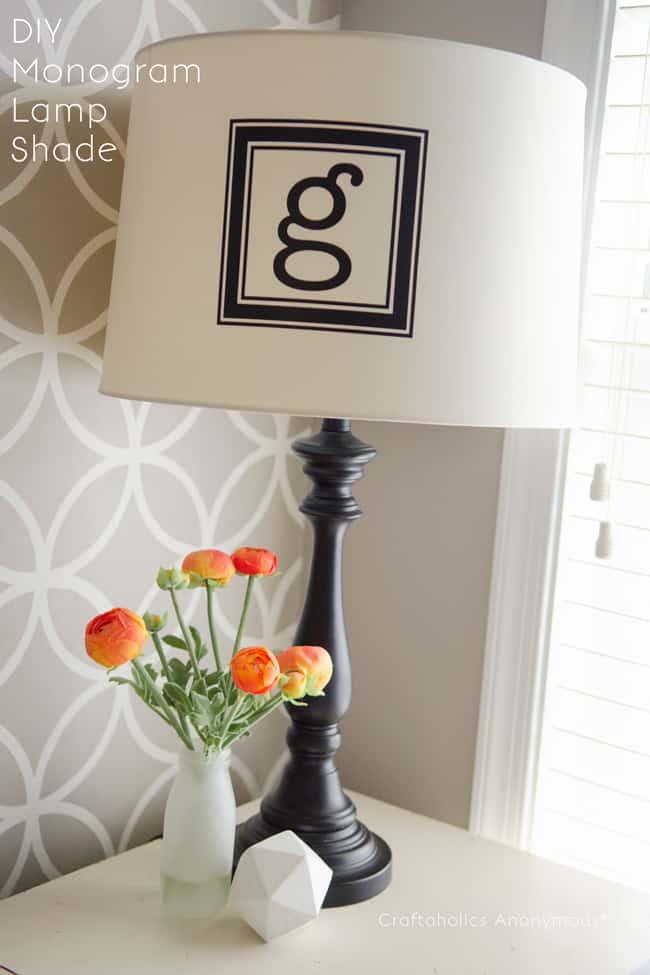 monogram-lamp-shade