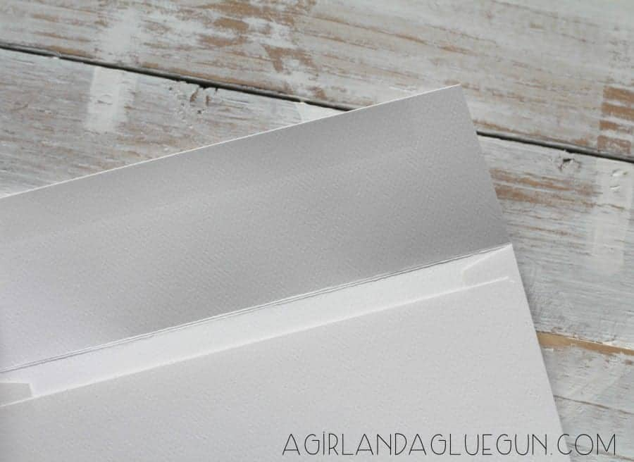 plain white envelopes