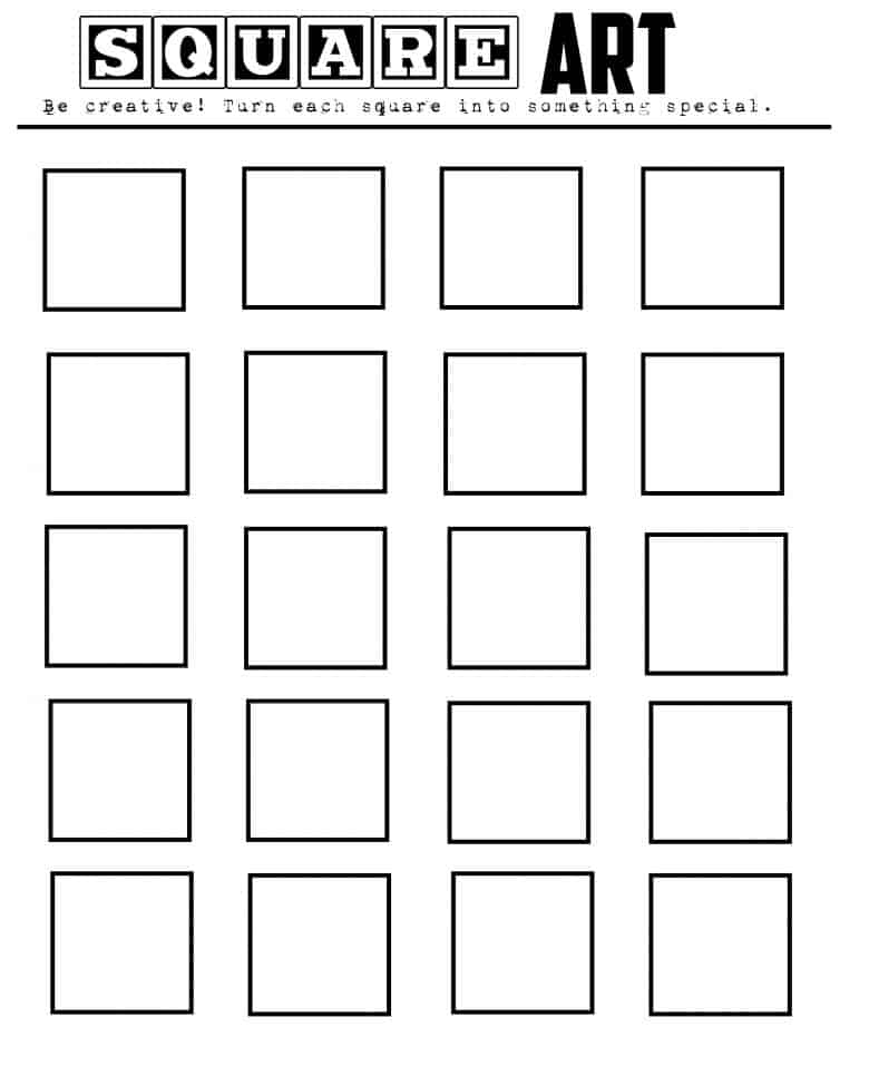 Worksheets Art Worksheets geometric art printable let your kids imaginations run wild a so much creativity you can download these printables here triangle art