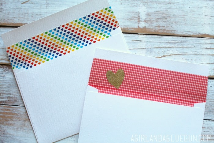 how to make an envelope without glue or tape