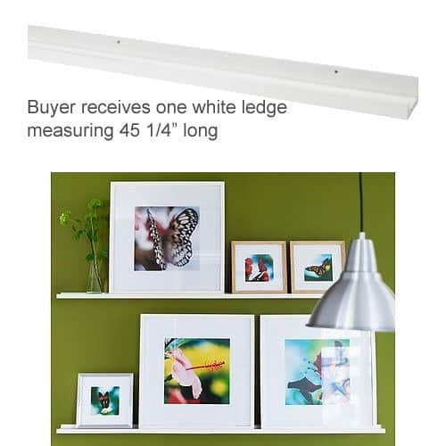 Ledge And Picture Frames