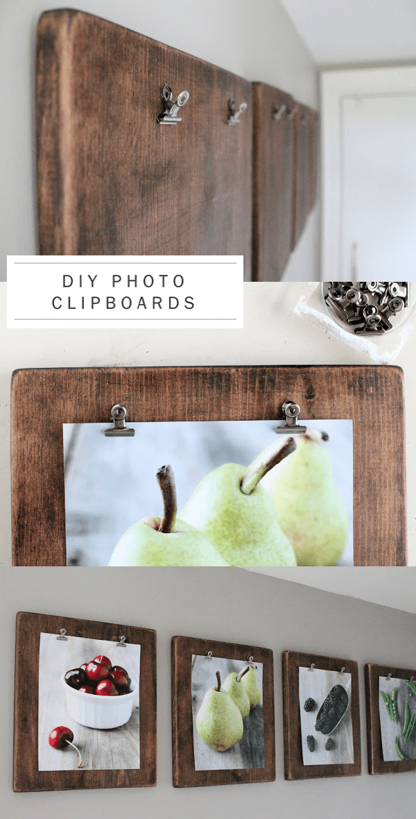 DIY-rustic-wedding-photo-clipboards-photographs