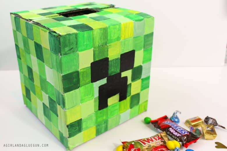 Valentine Day\'s boxes for School with Plaid crafts! - A girl and a ...
