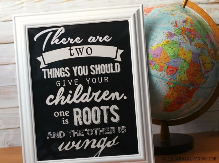ROOTS AND WINGS FREE PRINTABLE