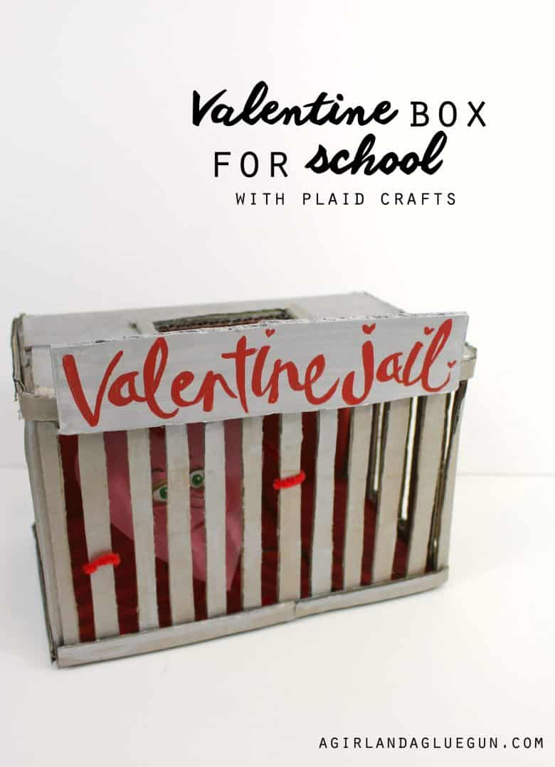 ... Valentine Boxes Since I Was A Kid! And My Favorite Two Things To Use  When Making Them Is Cardboard Boxes And Apple Barrel Paintsu2013so Letu0027s Get  Crafty ...